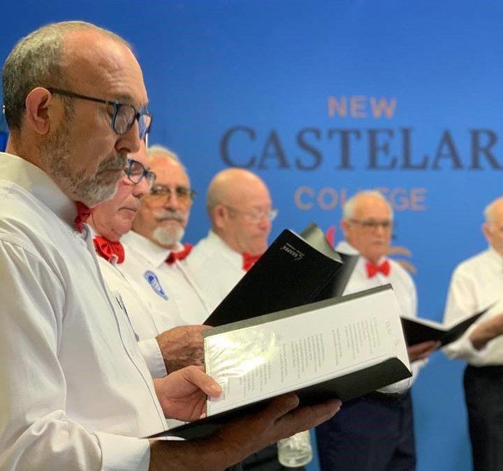 El Coro del Centro de Día de Lo Pagán visita New Castelar College