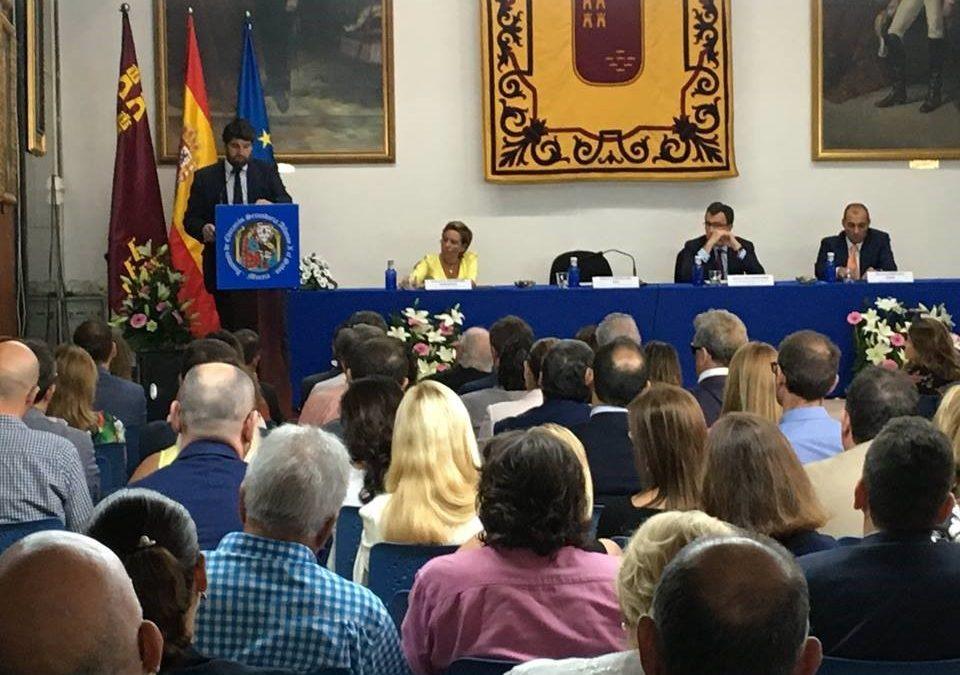 New Castelar College invitado a la inauguración oficial del Curso 2018/19 en la Región de Murcia