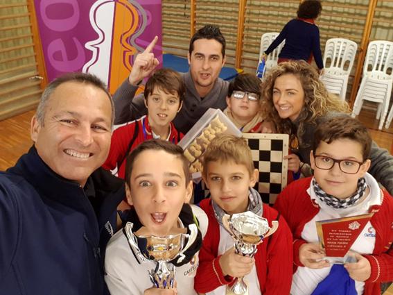 ¡New Castelar campeón de ajedrez!