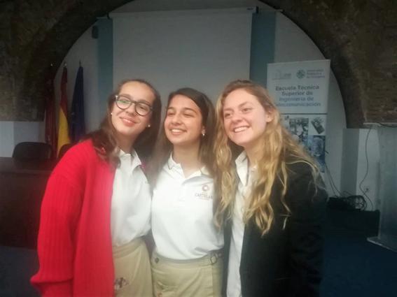 Triplete de campeonas en la Fase Provincial de la VII Edición del Concurso de Oratoria Fundación Activa-t y ESIC