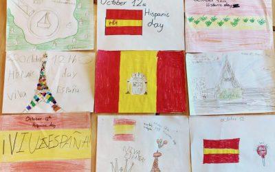 Nuestros alumnos dedican un detalle a nuestro país.