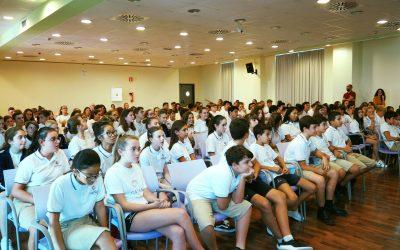 Os presentamos nuestras asambleas para elegir el alumno del mes.