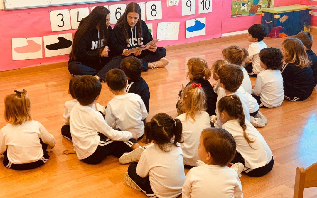 Momentos mágicos entre nuestros alumnos