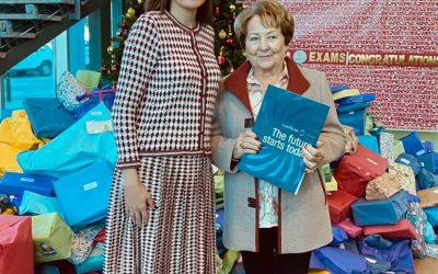 Fundación Remedios Miralles entrega las 3 Becas de estudios a New Castelar.