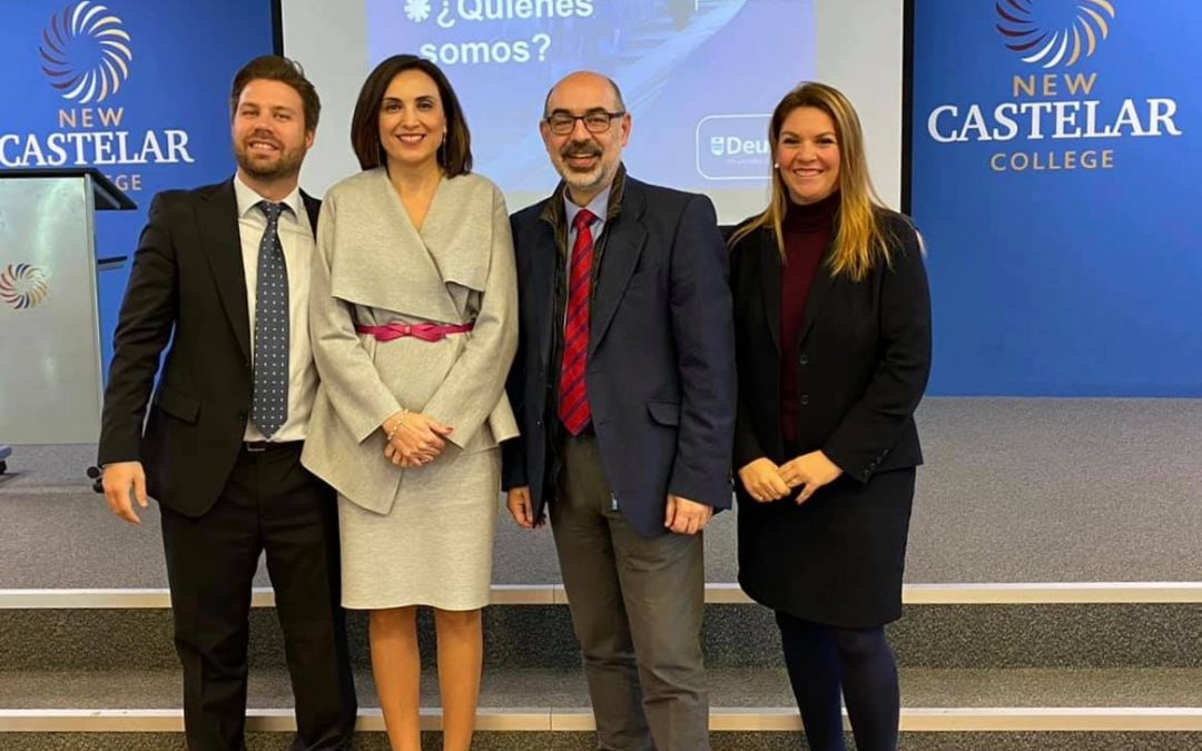 Universidad de Deusto visita New Castelar