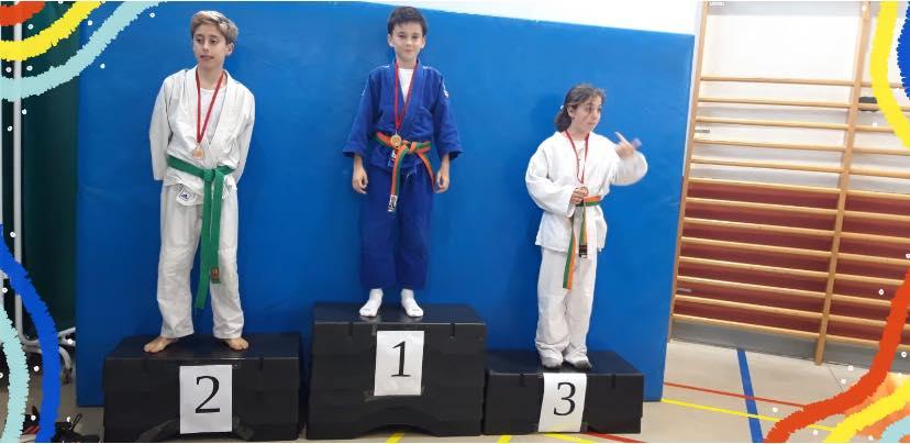Marcos Martínez campeón en el Trofeo Lyceo Frances de Judo