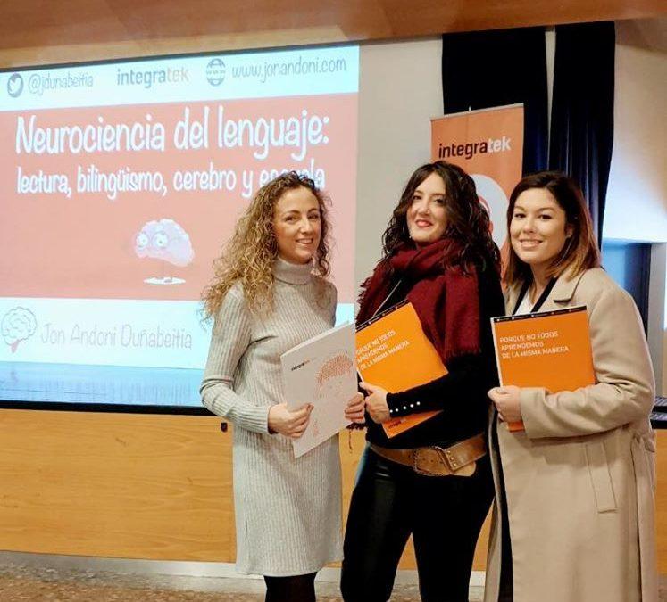 New Castelar College amplia sus conocimientos en la formación: Neurociencia del Lenguaje: lectura, bilingüismo, cerebro y escuela