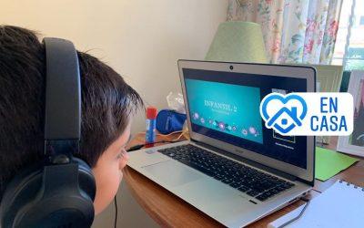 New Castelar College sigue impartiendo sus clases Online en todas las etapas escolares
