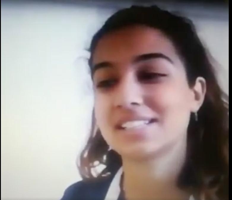 Nuestra alumna, Liza Makharashvili, Campeona Nacional Public Speaking Contest.