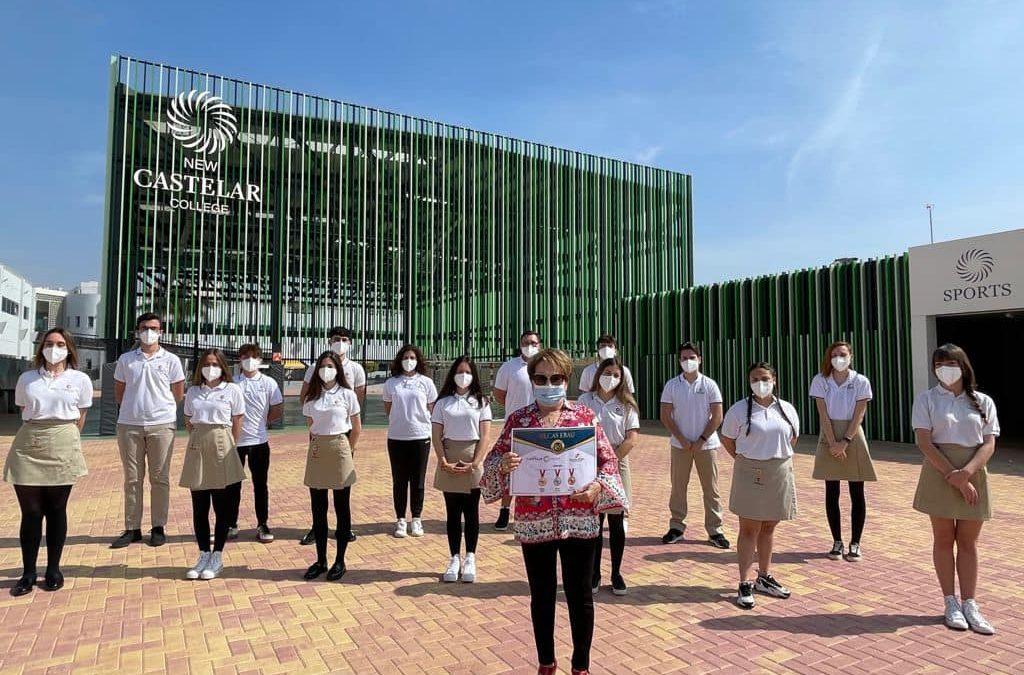 La Fundación Remedio Miralles, hace entrega de las 3 Becas-EBAU a New Castelar College