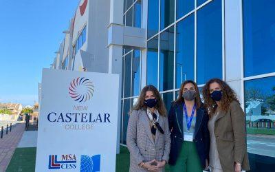 ISDE visita New Castelar College